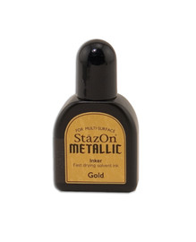 StazOn Metallic Reinker - Gold