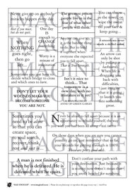 One A4 sheet of sayings or quotes based on Had enough theme. We have used Acid free paper, this is printed on plain matt white card, but can be inked, or sprayed to match your projects. It is very good for tearing, and with clear boxes, trimming is made easy. Printed here in New Zealand. can be used for scrap booking, card making, art journaling or off the page projects.