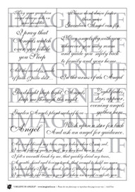 One A4 sheet of sayings or quotes based on an Angels theme. We have used Acid free paper, this is printed on plain matt white card, but can be inked, or sprayed to match your projects. It is very good for tearing, and with clear boxes, trimming is made easy. Printed here in New Zealand. can be used for scrap booking, card making, art journaling or off the page projects.