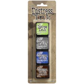Tim Holtz Distress Mini Ink Pads - Kit 14