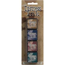 Tim Holtz Distress Mini Ink Pads - Kit 12
