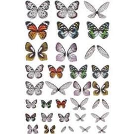 Tim Holtz Transparent wings