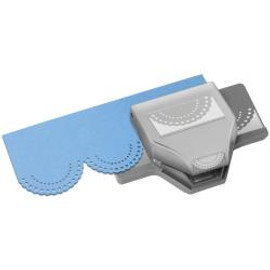 EK Tools Dotted Scallop Punch