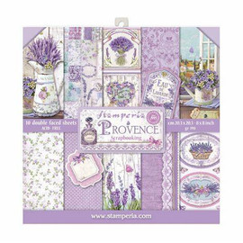 Stamperia Provence paper Pack 12x 12