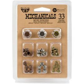 Prima Mini Knobs Embellishments
