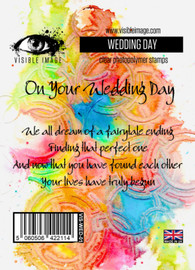 Visible Image stamps - Wedding Day