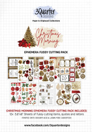 3Quarter Designs Ephemera Packs: Christmas Morning