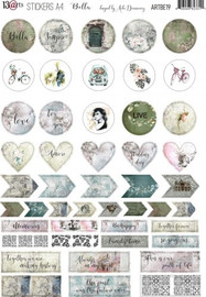 13 Arts Stickers A4 Bella