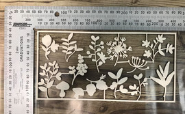 Flowers Layering set -Chipboard
