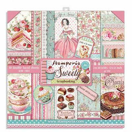 Stamperia Sweety paper Pack 12x 12