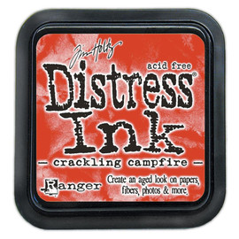Tim Holtz Distress  Ink Pad - Crackling Campfire