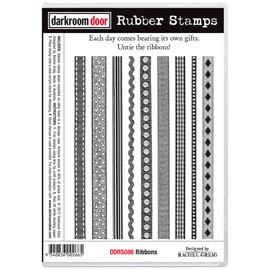 Darkroom Door Rubber Stamp Set - Ribbons