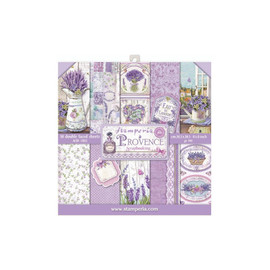 Stamperia Provence paper Pack 8x 8