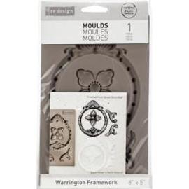 "Prima Marketing Re-Design Mould Warrington Framework  5""X8""X8mm"