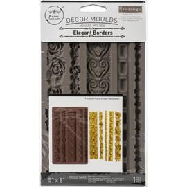 "Prima Marketing Re-Design Mould Elegant Borders 5""X8""X8mm"