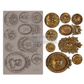 """Prima Marketing Re-Design Mould Ancient Findings Treasures 5""""X8""""X8mm"""