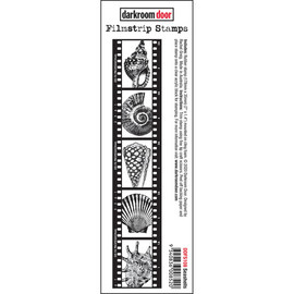 Darkroom Door Film strip Stamp Seashells Stamp
