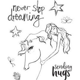 Jane Davenport Whimsical & Wild Collection - Horse Hug
