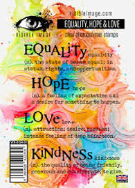 Visible Image - Equality Hope & Love