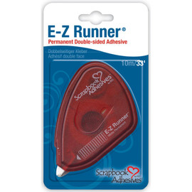 EZ Runner Permanent White Scrapbooking Adhesive
