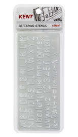 Kent 10mm Lettering Stencil set