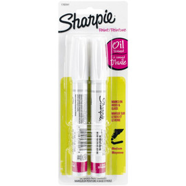 Sharpie Medium Point Oil-Based Opaque Paint Markers 2/Pkg by Sharpie