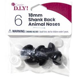 Black Shank Noses 18mm