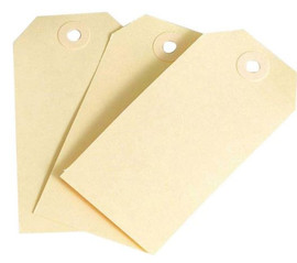 20 luggage tags 8cm x 16cm plain