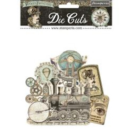 Stamperia Die Cuts Voyages