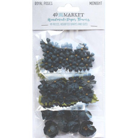 49 and Market Royal Posies  Midnight 49 Pkg