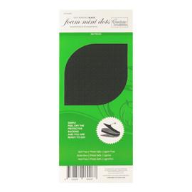3D Foam mini dots black 2mm high x 5mm wide