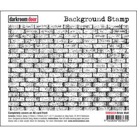 Darkroom Door Background Stamp - Brick Wall
