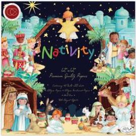 Craft Consortium Nativity 12x12 Paper Pad -