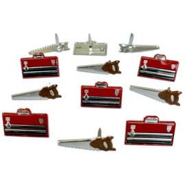 Eyelet Outlet Saw and Tool Box Brads