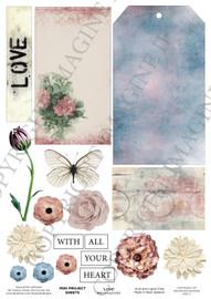 3Quarter Designs Mini Project Sheet - Love