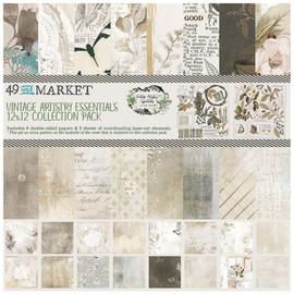 49 & Market Vintage Artistry essentials 12 x 12