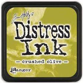 Tim Holtz Mini Distress Ink Pad - Crushed Olive