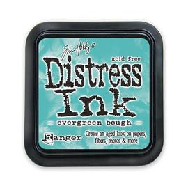 Tim Holtz Mini Distress Ink Pad - Evergreen Brough