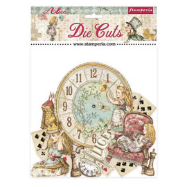 Stamperia  Die Cuts Alice through the looking glass