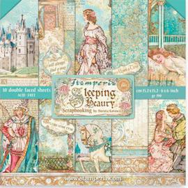 Stamperia Sleeping Beauty paper Pack 6 x 6
