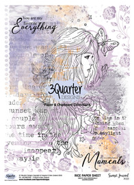 3Quarter Designs Rice Paper - Sunset Journal No1