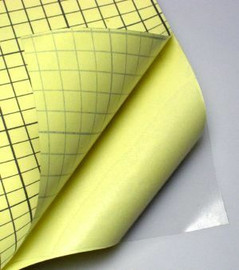 Double Sided Adhesive Sheet A4 clear for die cutting