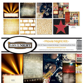 Reminisce Movie night kit  12 x 12