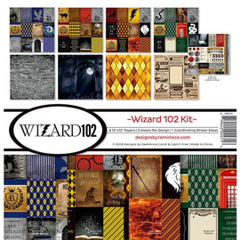 Reminisce Wizard 102 kit  12 x 12