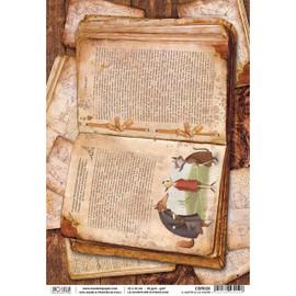 Ciao Bella Rice Paper - Pinocchio adventures