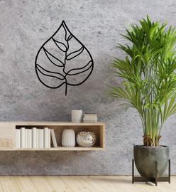 Lasercut Acrylic Wall Art - Leaf 1
