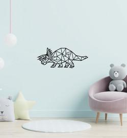 Lasercut Acrylic Wall Art - Cera Triceratops