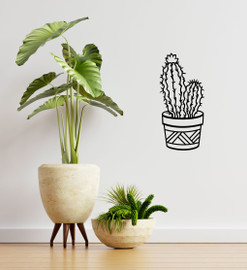 Lasercut Acrylic Wall Art - Cactus 1