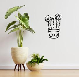 Lasercut Acrylic Wall Art - Cactus 2