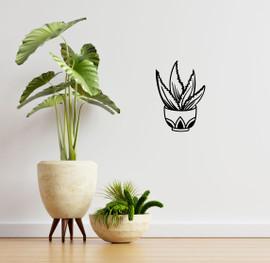 Lasercut Acrylic Wall Art - Plant 1